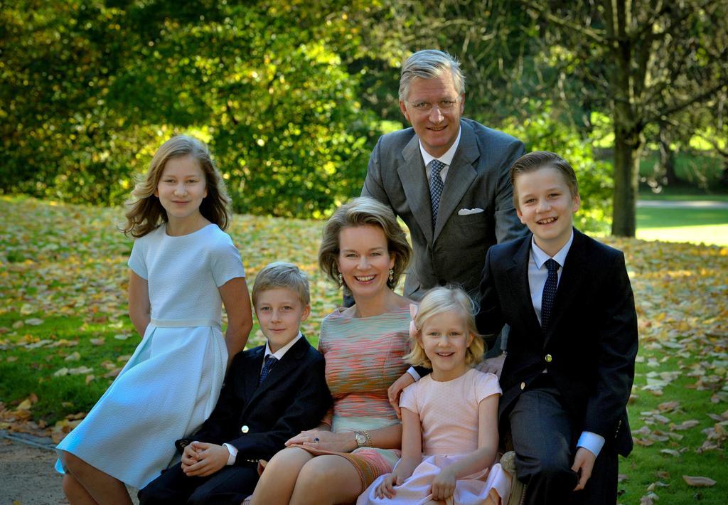 belgian royal family 2014s christmas card - Royal Family Christmas Card