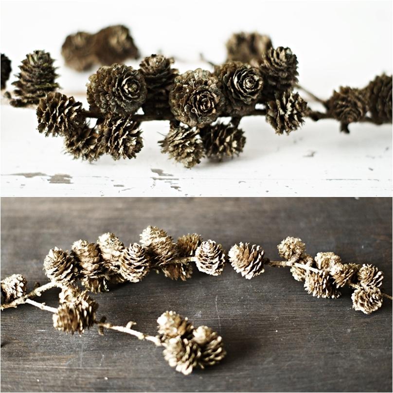 Blog + Fotografie by it's me! - Collage einer weißen Steingutvase mit Zweigen