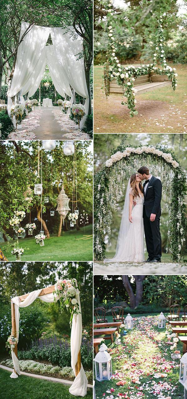 Ceremonia ślubna w plenerze, dekoracje ślubu plenerowego, ślub i wesele latem, wesele w lecie, ślub w lecie, pomysły i inspiracje na ślub, wesele w ogrodzie, ślub w ogrodzie, kolory na ślub w lecie, inspiracje ślubne, trendy ślubne, modne kolory na ślub i wesele