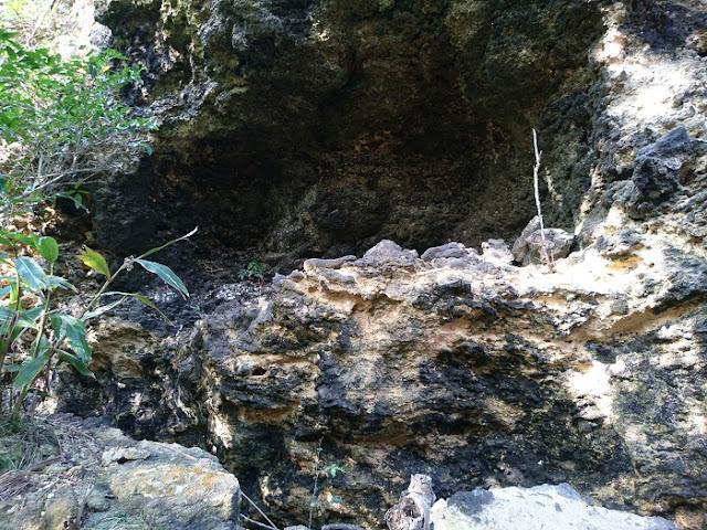 具志川グスクの壕の写真