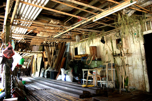 Longhouse of Bidayuh Tribe