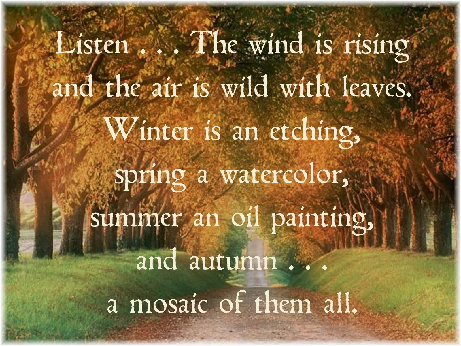 Fall Quotes: ~ The Feathered Nest ~: Looking Forward To Fall