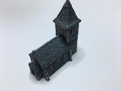 COMMISSION - Battlescale 6mm Buildings (Part 1)