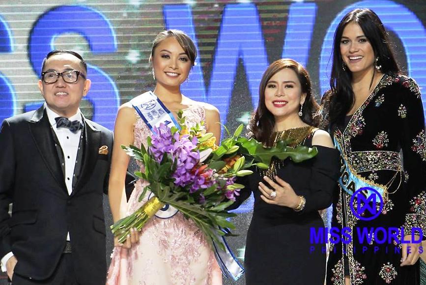 Bohol S Roving Eye Glyssa Perez Is Miss World Philippines