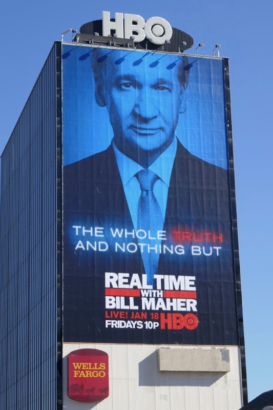 Real Time Bill Maher whole truth nothing but billboard