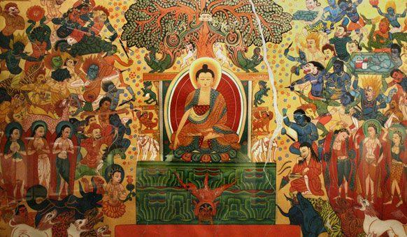 Đạo Phật Nguyên Thủy - Tìm Hiểu Kinh Phật - TRUNG BỘ KINH - Thí dụ lõi cây  (đại kinh và tiểu kinh)
