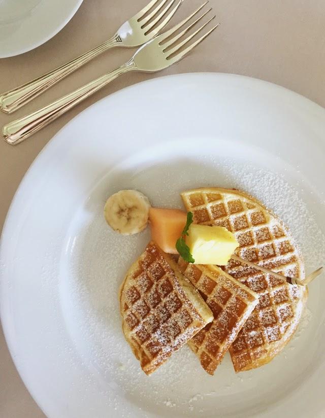 Waffles Mandarin Oriental Bangkok
