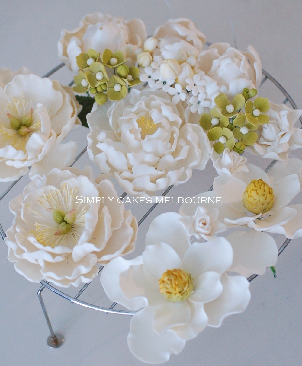 how do you make sugar flowers for wedding cakes cooking in melbourne sugar flowers project peony 15393