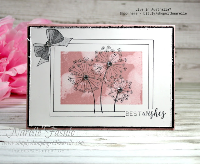 Evoke childhood memories everytime you use this stamp set. Dandelion Wishes. See more here - http://bit.ly/DandelionWishesStamp