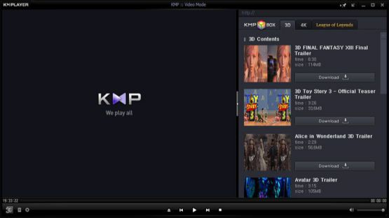 Kmplayer 4.1.4.7 Screenshot