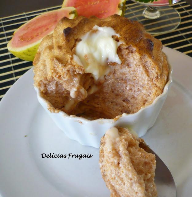 Delicias frugais - sufle de goiabada