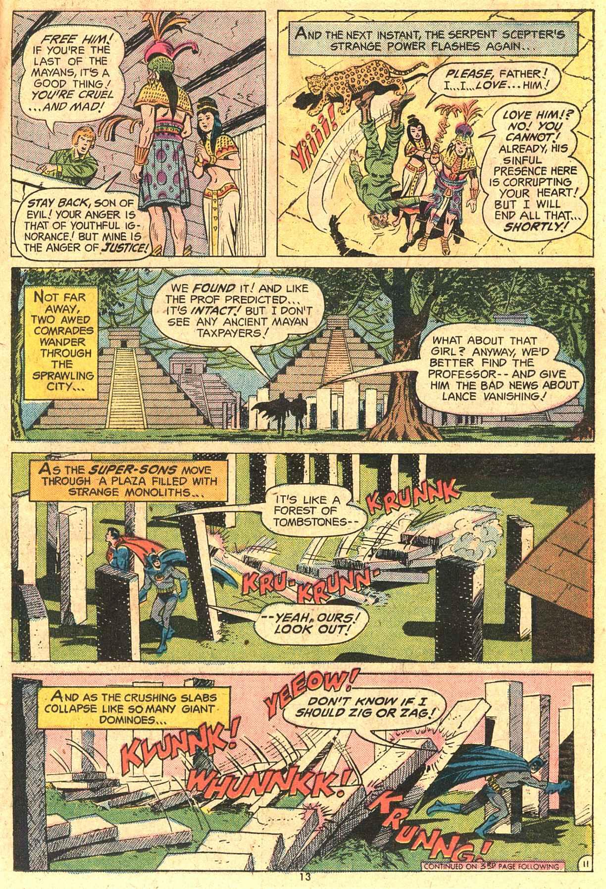 Read online World's Finest Comics comic -  Issue #230 - 13