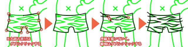 パンツの描き方