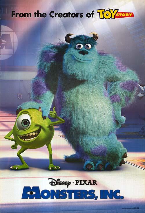Disney's Monsters Inc
