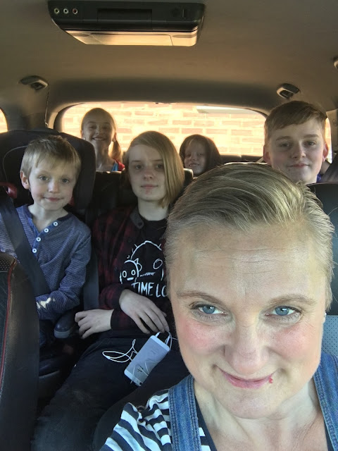 madmumof7 in car