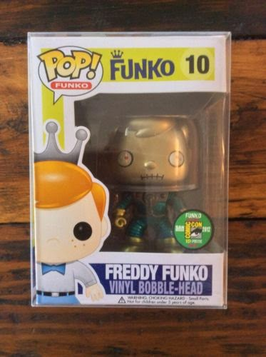 Pop! Freddy Funko Martian (Metallic) $1,000.00 - Solo existen 12