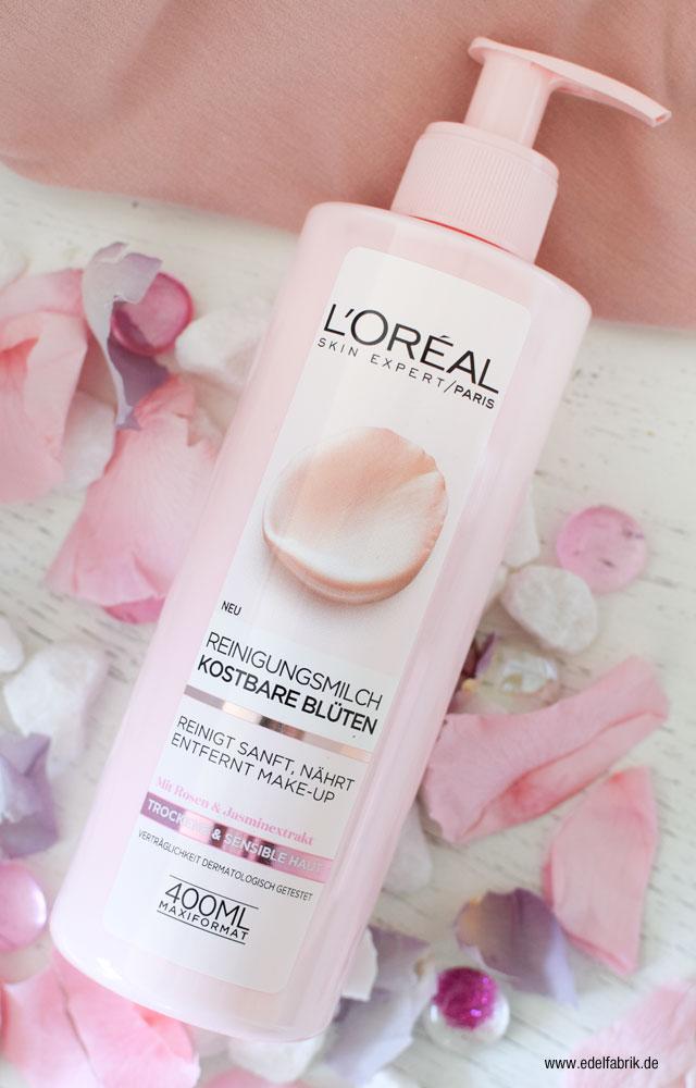 L'Oréal Kostbare Blüten Reinigungsmilch Test