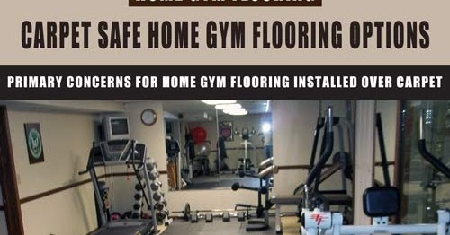 Mats And Tiles Carpet Safe Home Gym