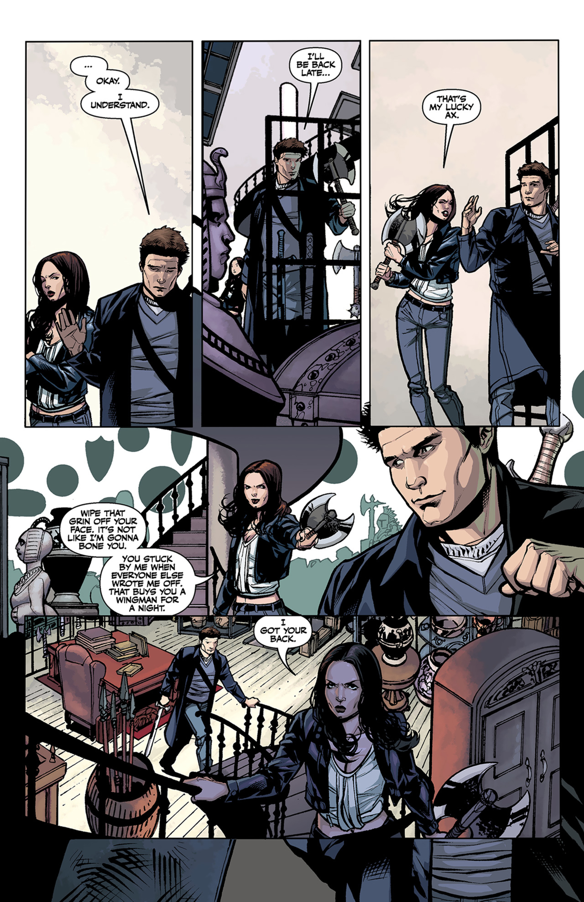 Read online Angel and Faith comic -  Issue #2 - 11