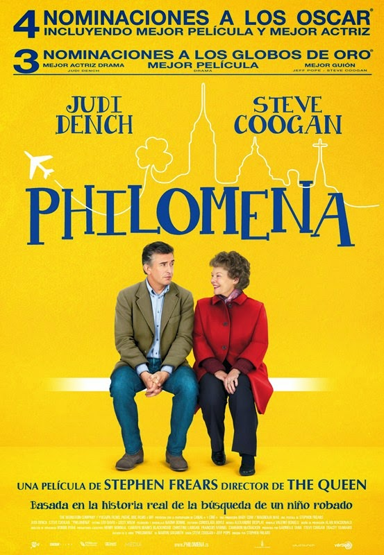 philomena golden globe and oscar nominations