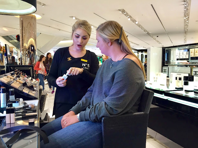 Make over by Chanel at Selfridges