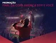 Cadastrar Promoção Bradesco Assistir Final Copa América 2019 - Viagem Conmebol