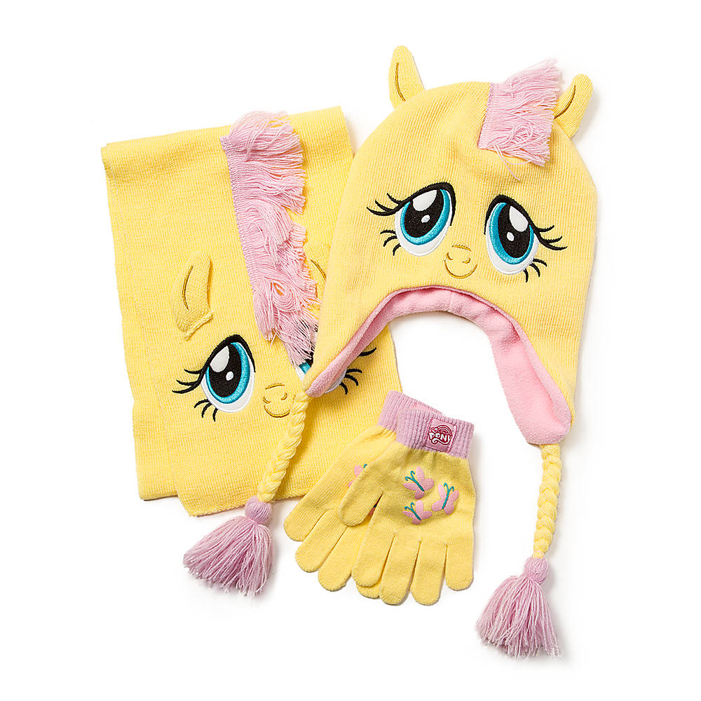 Fluttershy Hat Scarf and Gloves Sets ... 33476570bd1