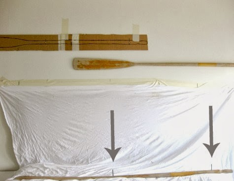how to hang oars