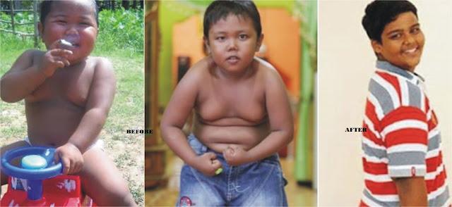 Indonesian baby smoker