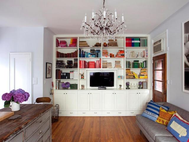 Bookshelf Decoration Ideas For Shelves In A Living Room