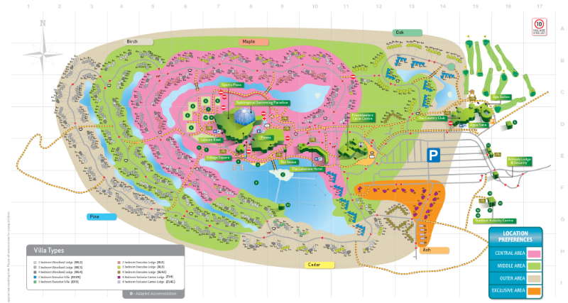 Center Parcs Elveden Map Elveden Forest Map | Gadgets 2018
