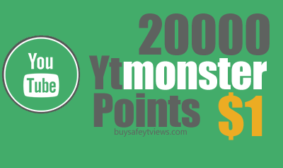 Buy 20000 Ytmonster Points