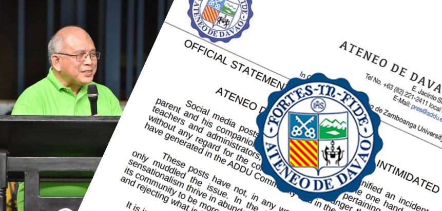 """We are a family of lawyers and killers!"" Ateneo de Davao probes on parent's threat to teacher"
