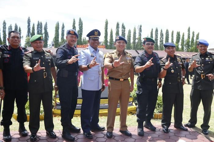 Gubernur Ridho Apreasiasi Brimob Ikut Ciptakan Stabilitas Lampung