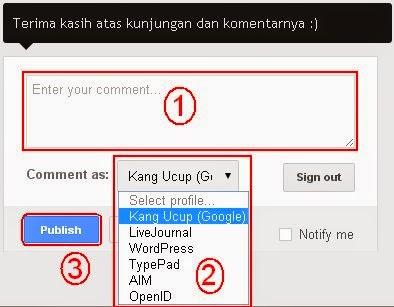 "Cara Agar ""Link Aktif"" Tampil di Komentar Blog"