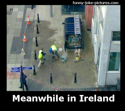 Funny Meanwhile in Ireland Photo