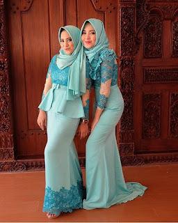 Kebaya Brokat Muslim Remaja