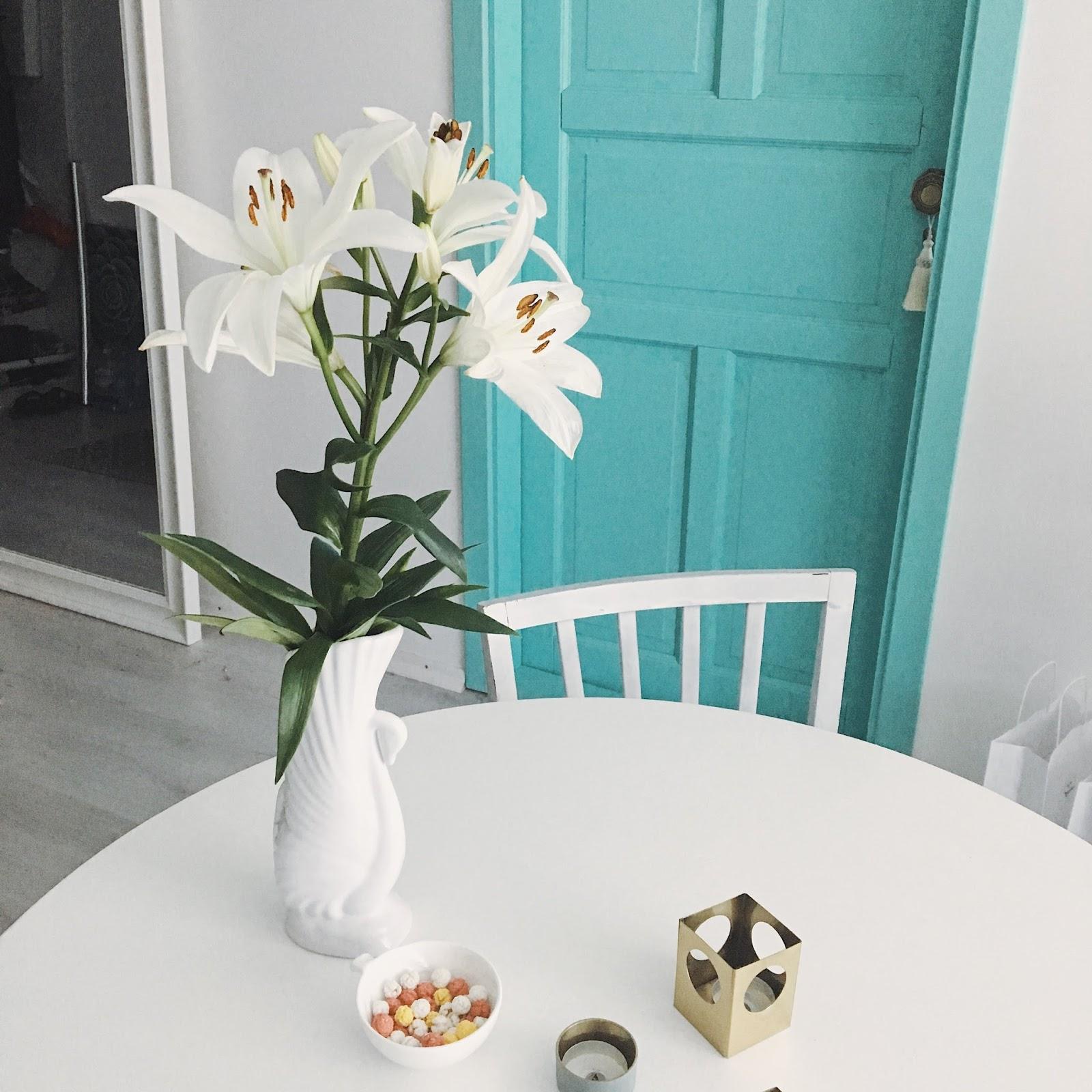 gėlės lelijos
