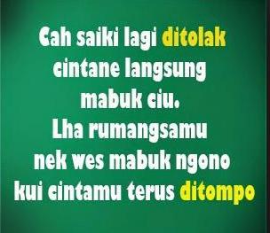 Kata kata bahasa jawa lucu dan gokil Bentuk hiburan yang  sangat sederhana ketika ini adala Kata Kata Lucu Bahasa Jawa Terbaru 2017