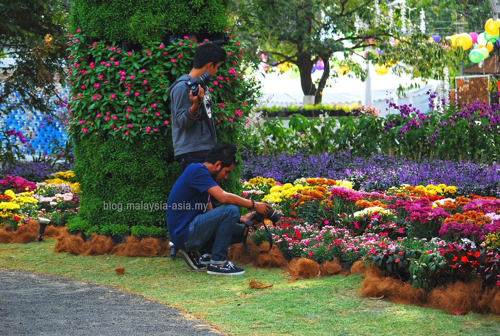Flower Garden Festival in Malaysia