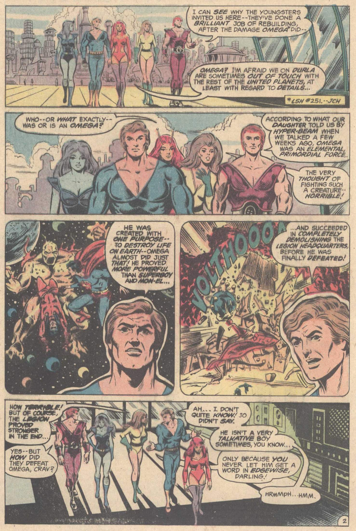 Legion of Super-Heroes (1980) 263 Page 3