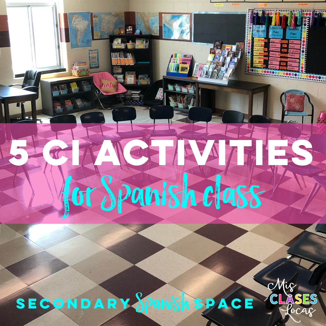Comprehensible Input Activities for any World Language Class - shared by Mis Clases Locas
