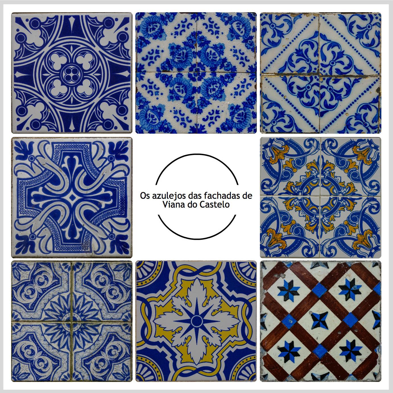 Viana os azulejos das fachadas for Azulejos df