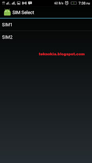 choose SIM 1 as Mobile data default