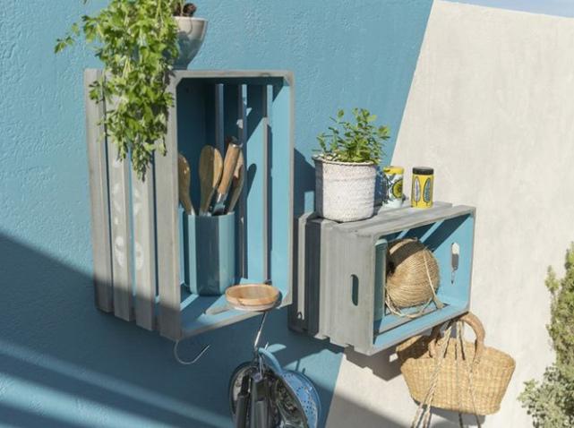 Store banne double pente castorama dans Mobilier Jardin