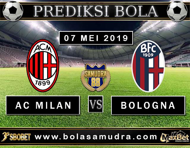 PREDIKSI SEPAK BOLA TERPERCAYA  AC MILAN VS BOLOGNA 07 MEI 2019