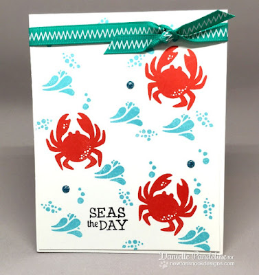 Seas The Day | Newtons Nook Designs | Card created by Danielle Pandeline
