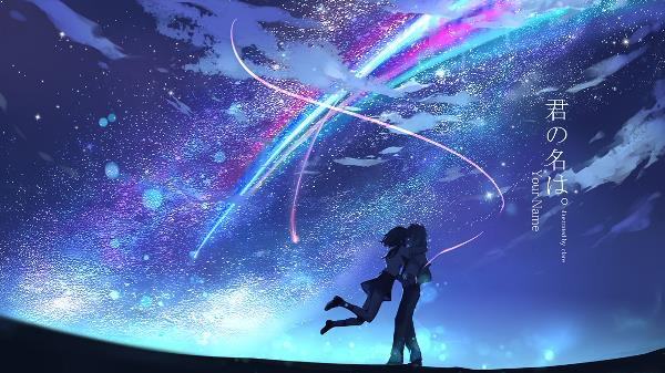 Cover Kimi No Na Wa Wallpaper Anime Animenoem
