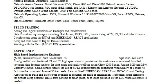 computer operator resume format in word free download
