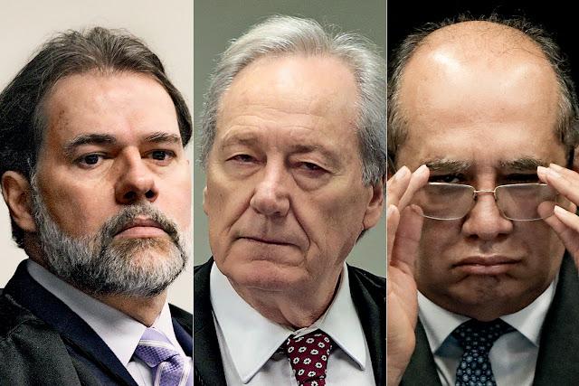 """Procuradores se manifestam contra a """"Operação Libera a Jato"""" de Gilmar, Toffoli e Lewandowski"""